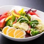 野菜たっぷり和風マヨサラダ