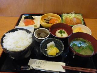懐 - 2014.10)日替わり定食(900円)