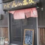 うどんの富久 - 外観 2014/10月
