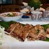 榮 - 料理写真:沖縄ブランド豚料理のアグー定食