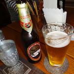 ミルフルクト - インドビール・ゴールデンイーグル600円