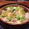 Sousakuizakayajin - 料理写真:キャベツと豚の酒蒸し キャベツの甘みと豚のコクがとても美味しい冬の定番料理