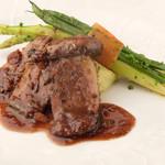 レストラン マリー - <仔牛のフィレステーキ>