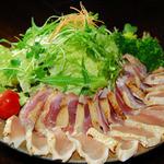 カフェフーノ - 宮崎鶏のたたき