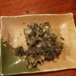 辨慶 - 岩海苔の天ぷら