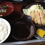 尾張屋 - みそかつ定食 750円☆(第三回投稿分①)