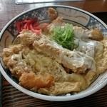 江戸家 - 半カツ丼