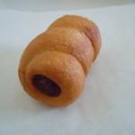 ビアンヴニュ - もちもちすぎるウインナーパン160円♪