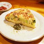 ししまる食堂 - ズッキーニとトマトのオムレツ(480円)