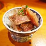 ししまる食堂 - 本日のりゅうきゅう ブリ(400円)
