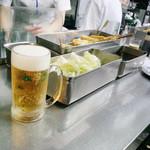 松葉 - 生ビールだけでもOK
