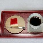 稲泉農園 cafe Orchard - ケーキセット    500円