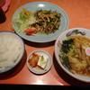 麗華 - 料理写真:A定食(1,100円)