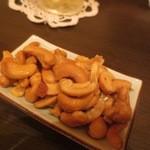 鯛麺真魚 - カシューナッツ
