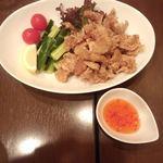 ジャイディー - 豚肉のから揚げ スイートチリソース