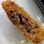 肉の吉野 - メンチカツ160円