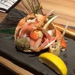 Hokkaidouhadekkaidouohotsukunomegumiabashirishi - ズワイ甲羅詰め