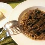 ラーナ グロッソ - 料理写真:ポルチーニ茸のクリームパスタ