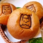 GGC - 料理写真:ぐんまちゃんパン 群馬県産小麦粉を使用したパン