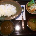 鉄板焼き とん平 - 料理写真:2014.9 牛すじカレー¥500