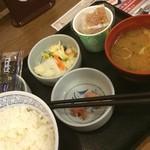 神戸らんぷ亭 - 朝定食。