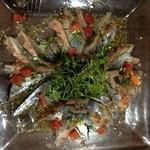 個室イタリアン×創作バル くらうど - 秋刀魚のカルパッチョ。美味い