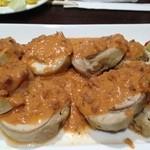 個室イタリアン×創作バル くらうど - メインの肉料理。ソースが決め手。美味し