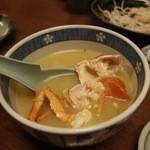 ちゅらさん亭 - セミエビの味噌汁