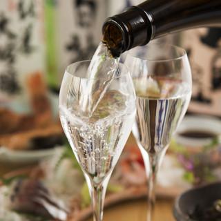 日本酒の豊富さ
