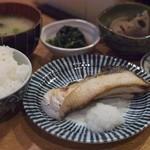 きづいち - 焼き魚定食(ぶり)