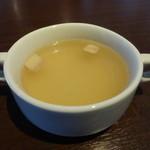 ビストロ波平 - セットのスープ