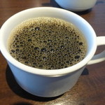 ビストロ波平 - セットのコーヒー