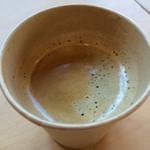 沢田本店 - カップコーヒー 200円