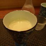 いずみ - 栗のスープ(薄味でした)