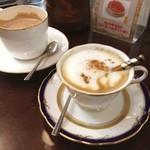 マスサンコーヒーショップ - 雰囲気割と好き。 だいぶ巡りました。休憩。 二条城に振られました(・Д・)