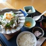 サンセット - 【帆立貝焼き定食】