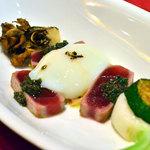 レストラン ル・プラトー - 鮪のミキュイ