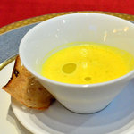 レストラン ル・プラトー - 南瓜のポタージュ