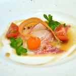 レストラン ル・プラトー - 真鯛のカルパッチョ