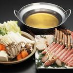 北の家族 - 本ずわいの蟹すき鍋