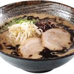 和だち - 黒マー油とんこつラーメン   700円