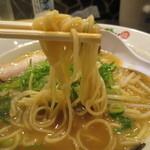 31326990 - 柔らかめのストレート中細麺。