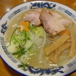 らーめん周 - 野菜ラーメン塩 800円