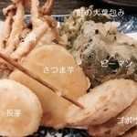 天ぷら わかやま - 一皿目