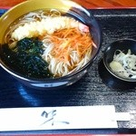 御食事処 曲屋 - 天ぷら蕎麦