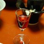 奈良屋旅館 - ドリンク写真:(夕食)【食前酒】信州産山ぶどう