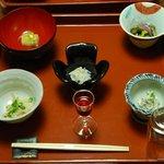 奈良屋旅館 - (夕食)【先附五種】