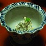 奈良屋旅館 - (夕食)【先附五種】とんぶり白和え