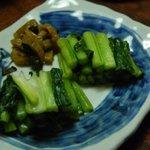 奈良屋旅館 - (夕食)野沢菜