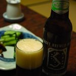 奈良屋旅館 - (夕食)地ビール(野沢ビール)